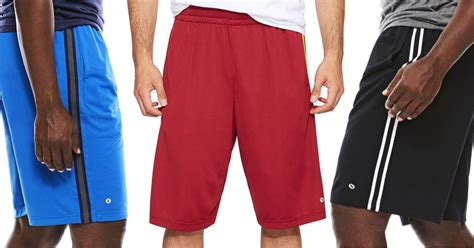 jcpenney mens xersion shorts   reg