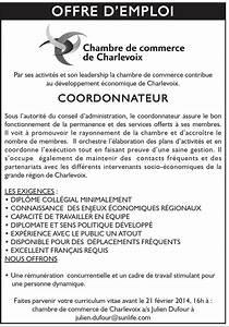 offre d39emploi chambre de commerce de charlevoix With offre d emploi chambre d agriculture