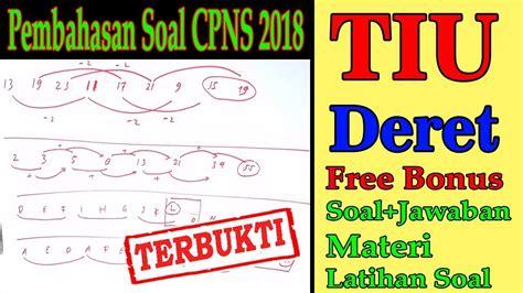 Ujian seleksi calon pegawai negeri sipil. Pembahasan Soal CPNS 2018 - Tes Intelegensi Umum TIU - Bab ...