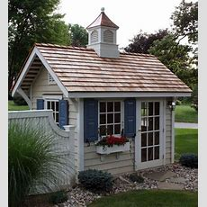 Cottage Style Garden Sheds  Kensington Smith About