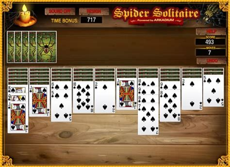 spider solitaire suits game funnygamesus