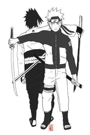 Naruto and Sasuke by zeke2121 on Newgrounds