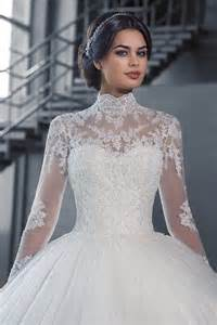 high neck wedding dresses vnaix w3058 see though sleeves lace gown wedding dresses 2016 high neck iiiusion lace