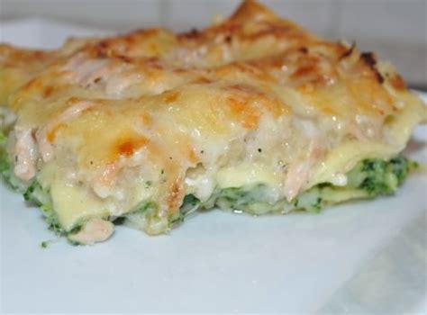 les recettes de la cuisine de asmaa lasagnes au saumon et brocoli les recettes de la cuisine