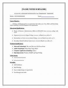 Examples Resumes Best s Printable Basic Resume