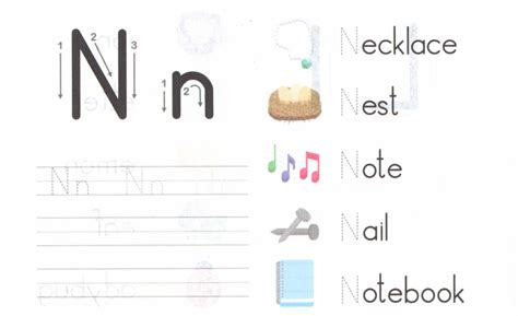 Letter N Worksheets For Preschoolkindergarten Printable