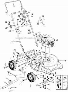 Yard Machines 11a-030a000 Parts List And Diagram