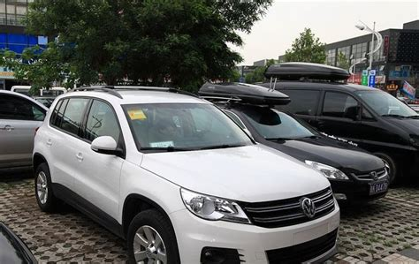 Tiguan Roof Rack Rails ( Aluminum Lockable ) , Car Luggage