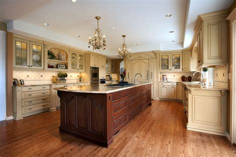 kitchens with different colored islands resources vision woodworks