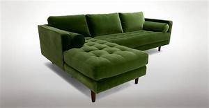 Green sectional sofa with chaise green sectional sofa with for Green sectional sofa with chaise