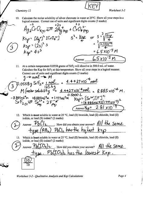 titration problems worksheet
