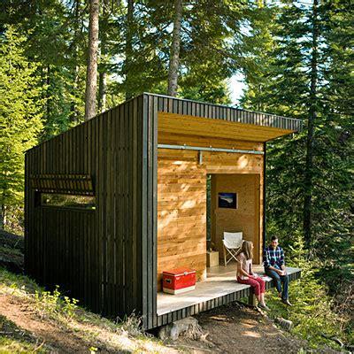 prefab cabins oregon jetson green modern grid signal shed in oregon