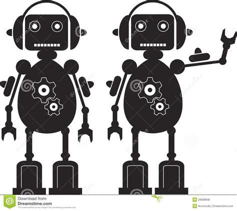 Gears Robot Royalty Free Stock Photos  Image 26668838