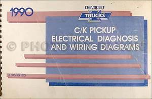 1990 Chevrolet C  K Pickup Truck Repair Shop Manual Original
