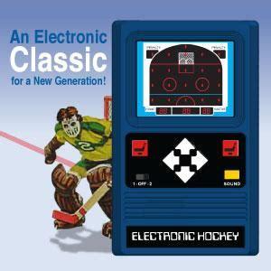 amazoncom classic hockey electronic game toys games