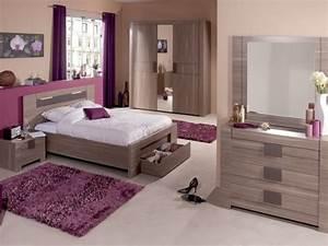 Chambre Conforama Adulte : chambres adultes conforama chambre moka id ~ Teatrodelosmanantiales.com Idées de Décoration