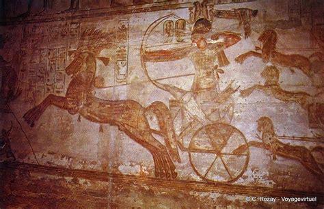 Ramses Ii On His Chariot Shooting Arrows, Basrelief