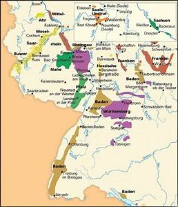 german wine map | Picture: Germany's Wine Regions | wine ...
