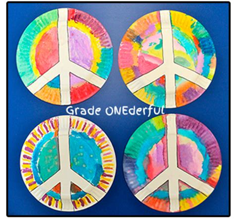 peace plates grade onederful 664   2