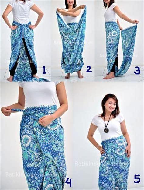 dress rok dengan resleting siminyun 39 s story cara pakai kain batik sebagai rok