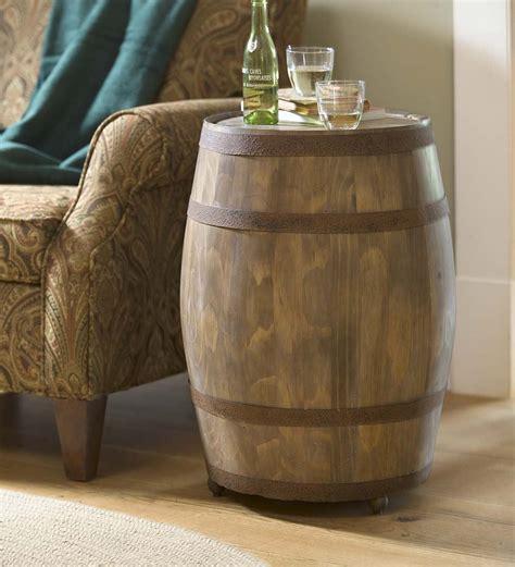 rustic metal wall sculptures creek wine barrel storage table so that 39 s cool