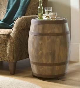 Deep, Creek, Wine, Barrel, Storage, Table