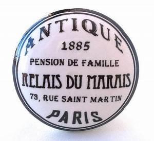 Bouton De Meuble Vintage : boutons de meubles poign es de meubles bouton de meuble ~ Melissatoandfro.com Idées de Décoration