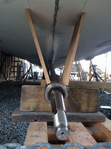 Propeller Shaft Strut Mock-up