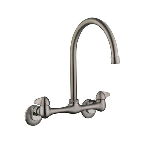 glacier bay pull out kitchen faucet glacier bay market single handle pull out sprayer kitchen faucet in stainless steel 67737 0008d2