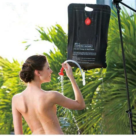 20l Solar Heated Portable Camping Shower Bag Outdoor
