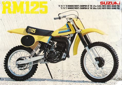 Where Is Suzuki Made by Suzuki Rm 125 Need Help On The Year It Was Made Plzz