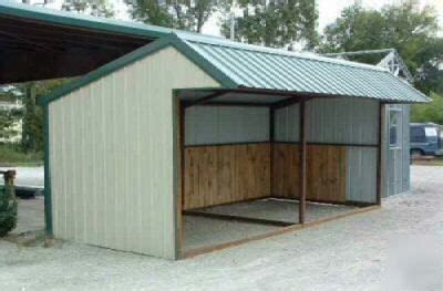 loafing shed plans free 9x20 all steel loafing shed s next project