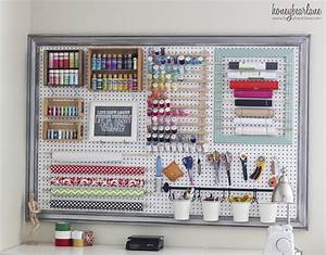 Extra, Large, Pegboard, For, Craft, Room, Organization