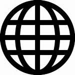 Icon Internet Globe Svg Grid Network Icons
