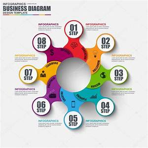 Infographic Cycle Diagram Vector Design Template  Can Be