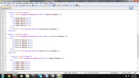 Membuat Halaman Web Dengan Menggunakan Html5, Css3 Dan