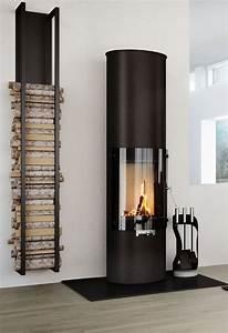 Kaminholz Stapeln Wohnzimmer : 25 cool firewood storage designs for modern homes ~ Michelbontemps.com Haus und Dekorationen