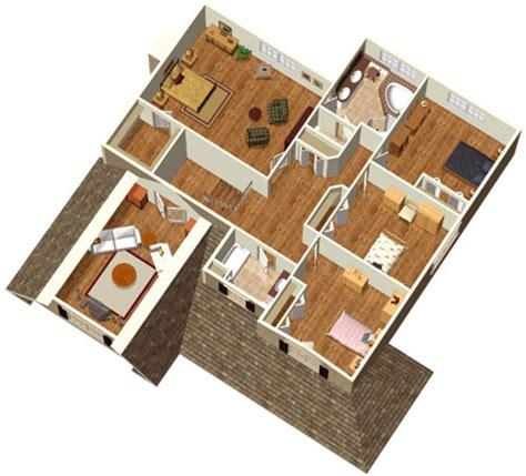 bedroom farmouse  stone facade pm  floor