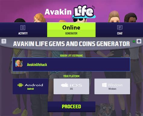 avakin hack unlimited generator coins money cheat