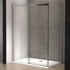 Paroi De Douche 160 : cabine douche pure 160 x 100 cm thalassor ~ Edinachiropracticcenter.com Idées de Décoration