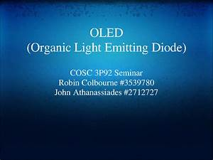 Organic light emitting diode oled ppt – Industrial ...