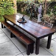 Make Outdoor Wood Table by 15 Best Rustic Outdoor Design Ideas