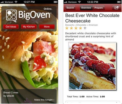 free food apps for iphone 22 free food and recipe iphone apps smashingapps