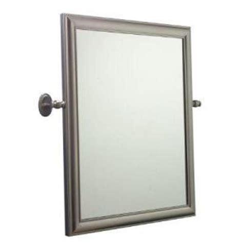 pivot bathroom mirror home depot home innova antique rope pivoting vanity mirror