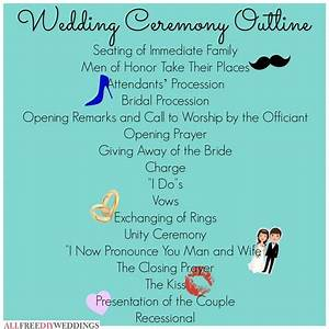 Ceremony outline mrs pinterest for Christian wedding ceremony outline