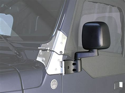 jeep wrangler side mirrors doors crown automotive 55395061ab modern style driver side