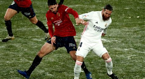 Real Madrid 0-0 Osasuna RESUMEN YouTube resultados ...