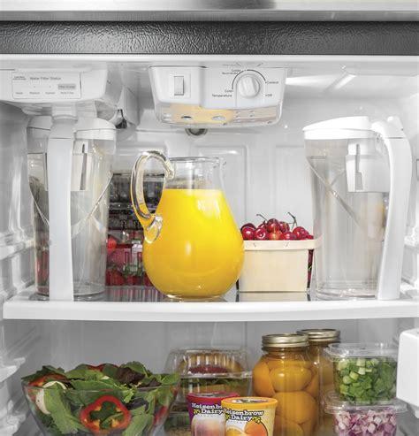 ge  cu ft top freezer refrigerator  autofill pitcher gaspsjss ge appliances