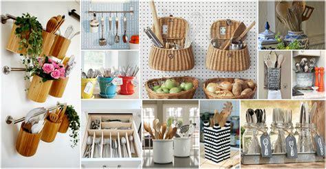how to organize your kitchen utensils 20 creative ideas of how to organize your kitchen utensils 8785