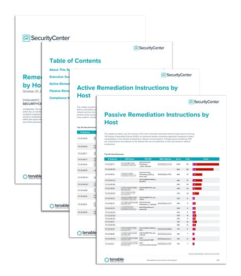 Security Remediation Plan Template by Remediation By Host Report Sc Report